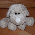 Best Made Toys Tan Plush Curly Puppy Dog Cream Nose Black Eyes
