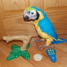 Hasbro FurReal Friends Squawkers McCaw Interactive Parrot Complete Perch Remote Cracker Instructions