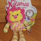 Nakamas Plush Colorful Friendship Lion Leona with Bracelet Code