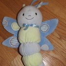Carters Just One Year Green & Blue Musical Bug Dragonfly Crib Toy