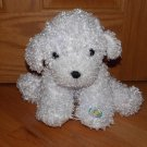 Cepia Color Kinetics Color Changing Plush Puppy Dog Curly White Fur E Hand Light Up Glow