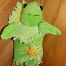 Fiesta Green Sea Turtle with Fish Blanket Babies A22575