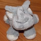 Cost Plus World Market Plush Gray Cream Elephant