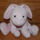 Target Corporation Large Plush Pink Chenille Laying Bunny Rabbit 78793