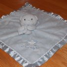 Carters Just One Year Sweet Baby Boy Blue Teddy Bear Security Blanket Lovey Star