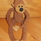 Bath & Body Works Brown Plush Monkey Named Chi Chi Velcro