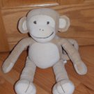 Gymboree Plush Tan Beige Monkey Cream Face Ears Tummy