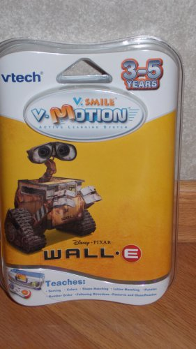 Vtech V.Smile V. Motion Active Learning System Game Cartridge WallE
