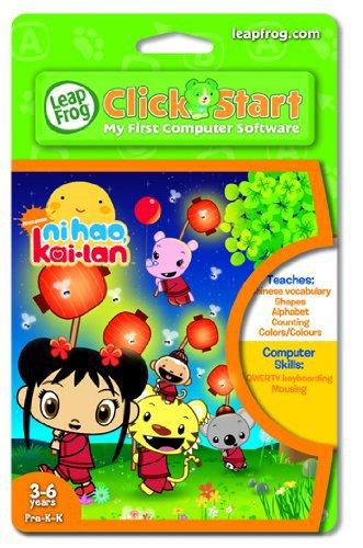 Leapfrog Click Start My First Computer Software Nihao Kai-lan 3-6 yearsPre-K Leapfrog 22676