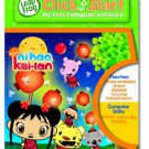Leapfrog Click Start My First Computer Software Nihao Kai-lan 3-6 yearsPre-K Leapfrog 22676