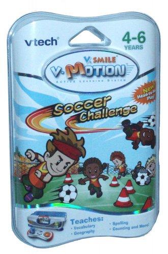VTech V-Motion Smartridge Learning Game Cartridge Soccer Challenge