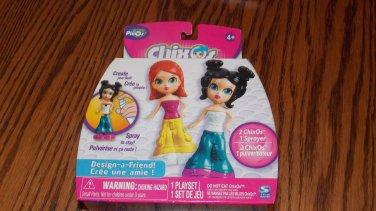 Pixos Chixos Design a Friend Playset 2 Girl Figures