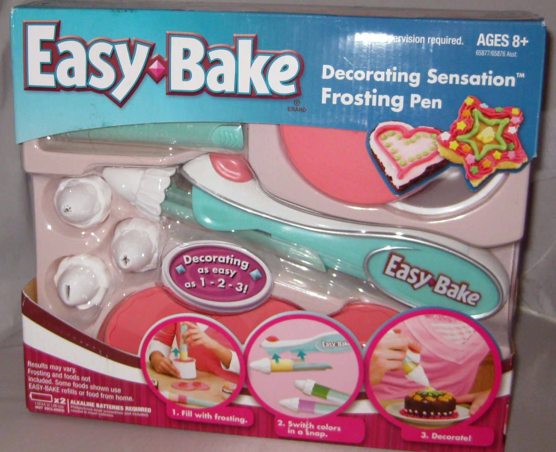 Hasbro Easy Bake Oven Decorating Sensation Frosting Pen Cupcake Cookies