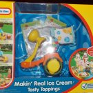 Little Tikes Makin' Real Ice Cream Tasty Toppings Kitchen Fun