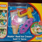 Little Tikes Makin' Real Ice Cream Swirl 'n Serve Kitchen Fun