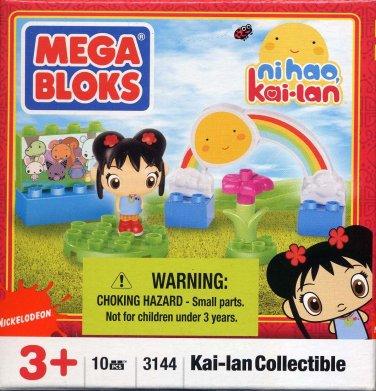 Mega Bloks Ni Hao, Kai-Lan Collectible 10 Pcs Building Blocks Set with Figurine #3144 by Mega Bloks