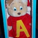 Dayton Hudson 1990 Alvin & the Chipmunks Christmas Alvin Plush Toy in the Box