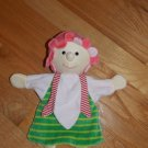 Stemtaler Plush Striped Doll Hand Puppet Security Blanket Lovey Germany