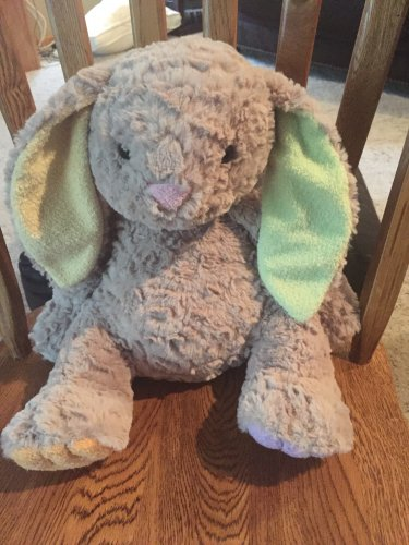 Animal Adventure Tan Beige Bunny Rabbit Pastel Ears Paws