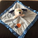 Target Circo Sports Balls White Puppy Dog Blue Security Blanket Plush Baby Toy Lovey