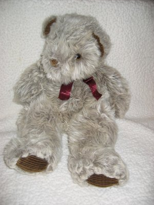 Applause 1992 Plush Teddy Bear with corduroy accents