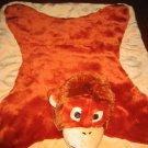 Red Envelope Security Blanket Monkey Lovey
