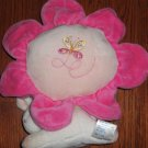 Carters Starters Pink Plush Flower with Bunny Rabbit Musical Crib Toy