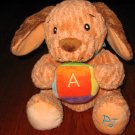 Bright Starts ABC Plush Puppy Dog PJ Lovey
