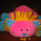 Kellytoy Wild Pink Lion Plush Pillow