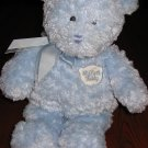 Baby Gund Plush Blue Bear My First Teddy  Lovey
