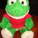 Build-A-Bear Frog with back pack