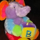 Aurora Baby Multi Colored Elephant Sings the ABC's