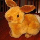 "Vintage 1989 Fiesta ""Natural Bunny"" #E5602 Plush Brown Bunny Rabbit"