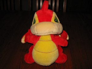 Talking Scorchio Neopets interactive light up plush toy