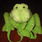 Baby Gund Frog Back pack or Carrier Plush