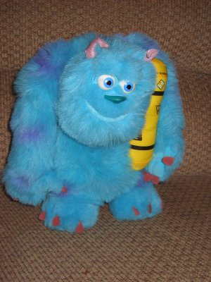 Monster's Inc Plush Glowing Bedtime Sulley Doll Sulley