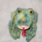 Ty Beanie Babies Green pop-eyed frog named Croaks
