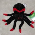 Plush Spider with tag Shanghai Toys