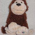 Plush Stuffed Animal Brown Monkey Ganz Webkinz Soft Toy no code