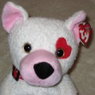 2003 Ty Beanie Buddy Buddies Cupid Valentine Love Puppy Dog