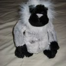 Ganz Grey Langur Monkey Webkins Plush Toy Webkinz Gray