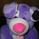 "10"" Nuby Tickle Toes Purple Dog Lovey by Luv n' Care Laughs and Giggles"