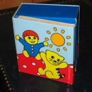 Lego Primo Toddler Duplo Blocks Book with Two Characters Wordless Book