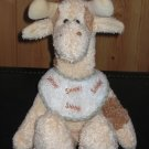 The Boyds Collection Plush Giraffe with Bib 2001