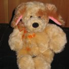 Gund Plush Tan Dog Spot  #13021  Super Soft Lovey