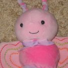 Child of Mine Butterfly Musical Crib Toy Pink wings crinkle