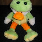 Ganz Duck in Disguise.. Plush Duck dressed as a Frog   Cute