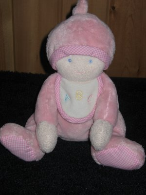 From Douglas the Cuddle Toy Co Pink Plush Doll Lovey