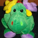 Retired Moose By baby Ty 1998 Green Plush Toy named Antlers
