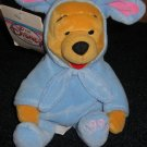 Mini Bean Bag Easter Bunny Pooh from Disney Winnie the Pooh
